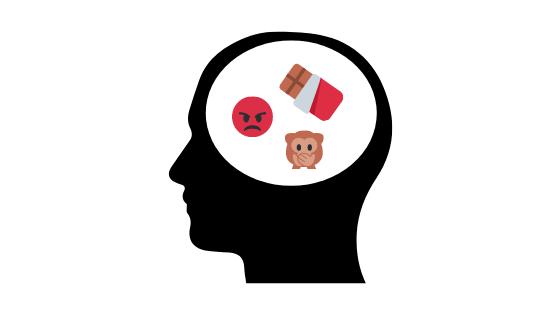 Jídlo, výčitky, negativní myšlení