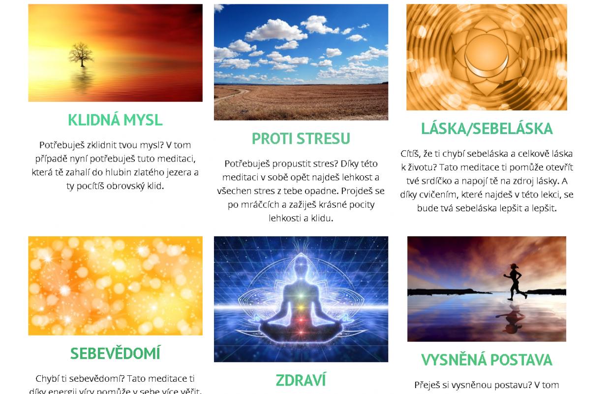 Meditace - Promedituj se ke štěstí